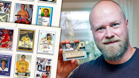 Tatu Kanenin kokoelmiin on kertynyt tuhansia kortteja. Tarkkaa määrää hän ei tiedä itsekään.