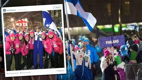 Suomen nais- ja miesurheilijoilla on eriväriset edustusasut MM-Lahdessa.