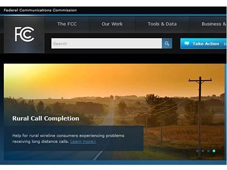 FCC:n tehtävänä on varmistaa, että myös maaseudulla on toimivat viestintäyhteydet.