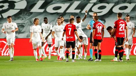 Real Madrid löi Real Mallorcan 2–0.