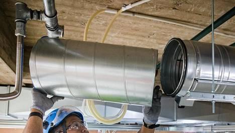 Asiantuntijat muistuttavat, että ilmanvaihtojärjestelmien tulee olla tasapainossa ja huollettuja