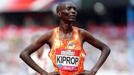 Asbel Kiprop on olympiavoittaja Pekingin kisoista vuodelta 2008.