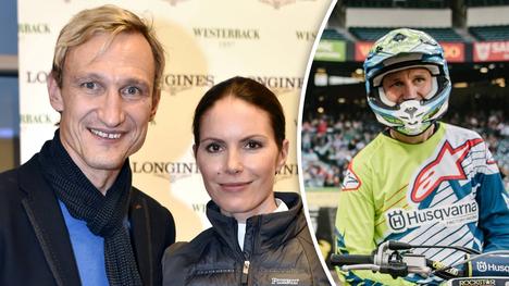 Sami Hyypiä nauttii ajastaan perheensä parissa. Sami ja Susanna Hyypiä kuvattuna Helsinki Horse Show'ssa viime marraskuussa.
