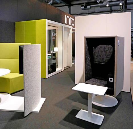 Suomalainen Into Concept tarjoaa ratkaisuja miellyttävään työympäristöön.