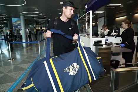 Pekka Rinne on edustanut koko NHL-uransa Nashville Predatorsia.
