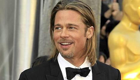 Brad Pitt Oscar-gaalassa.
