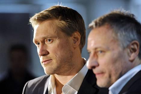 Samuli Edelmann (vas.) näytteli edellisessä Mission: Impossible -seikkailussa roiston (Michael Nyqvist) apuria.