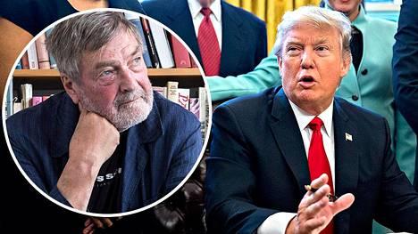 Claes Andersson sanoi radiossa maanantaina, että Trump käyttäytyy kuin narsistinen psykopaatti.