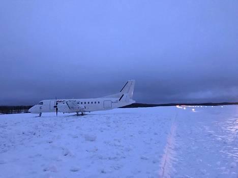 """Keliyhdistelmä oli Savonlinnan lentokentällä """"pahin mahdollinen""""."""
