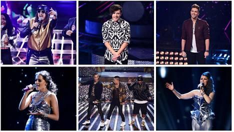 X Factorissa on enää kuusi kisaajaa jäljellä.