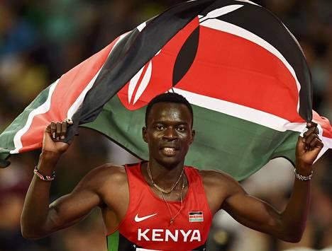 Nicholas Bett voitti Kenialle historiallisen MM-kultamitalin.