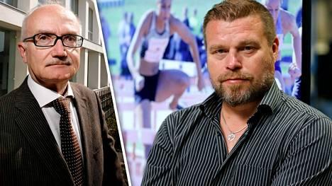 Kari Mänty (vas.) ja Lauri Hollo.