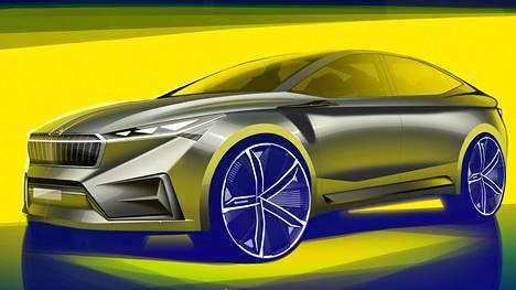 Škodan konsepti on esillä Geneven autonäyttelyssä maaliskuussa. Tänä vuonna Škoda tuo markkinoille ladattavan hybridimallin Superb PHEV ja Citigo-täyssähköautomallin.