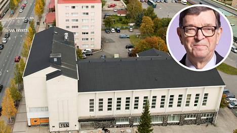Paavo Väyrynen haluaisi Kemin kaupungin työväentalon omistajaksi.