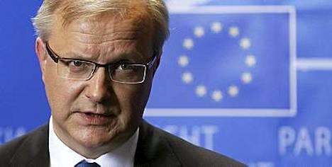 EU-parlamentti kuulusteli maanantaina talouskomissaariehdokas Olli Rehniä.