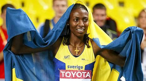 Abeba Aregawi järjesti Ruotsille kultajuhlat.