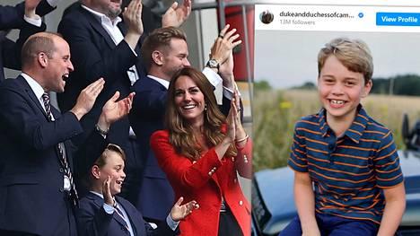 Georgen syntymäpäiväpotretin on kuvannut herttuatar Catherine.