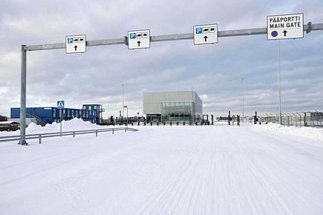 Fennovoiman ydinvoimalatyömaa-alue Pyhäjoella.