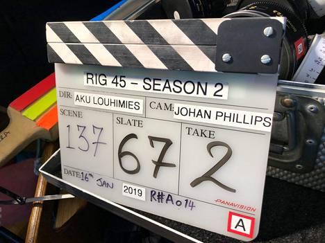 Rig 45:n kuvauksia tehtiin muun muassa tammikuussa 2019.