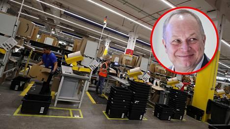 Kaupan liiton toimitusjohtajan Juhani Pekkalan mukaan Amazon olisi kova kirittäjä suomalaiseen verkkokauppaan.
