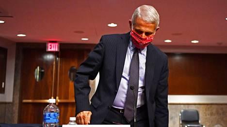 Anthony Fauci on USA:n johtava tartuntatautiasiantuntija.