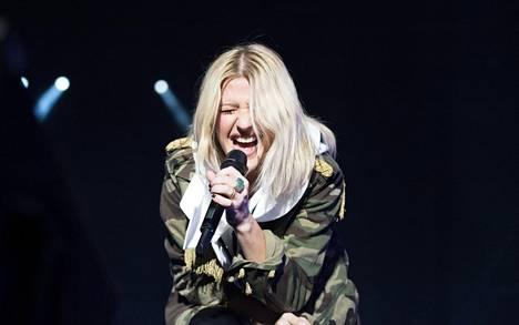 Goulding esiintyi viime kesänä Turun Ruisrockissa.