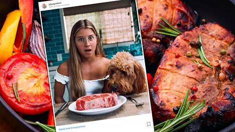Alyse Parker kertoo olevansa entinen vegaani.