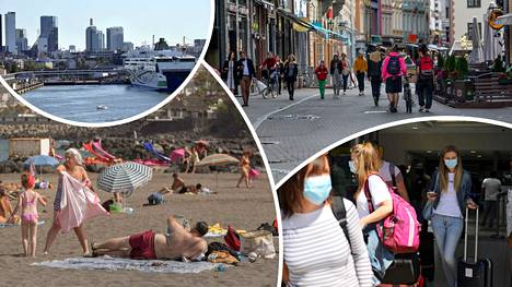 Suomalaiset ovat päässeet tänä kesänä matkustelemaan Baltian maihin ja muutamaan aurinkokohteeseen.