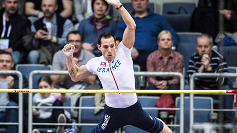 Renaud Lavillenie on huippukunnossa.