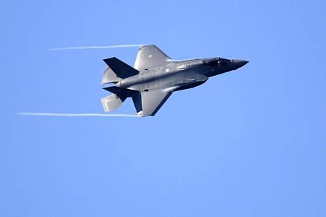 F-35 on yksi ehdokas Suomen ilmavoimien seuraavaksi hävittäjäksi.