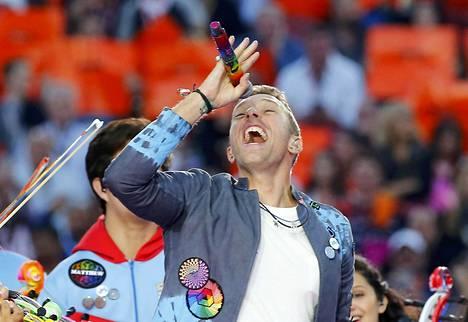 Chris Martin on Coldplayn keulakuva.
