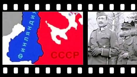 OTR-kanavan Unohdettu sota -ohjelma tulvii outoja väitteitä talvisodasta. Kuvakaappaukset ohjelmasta.