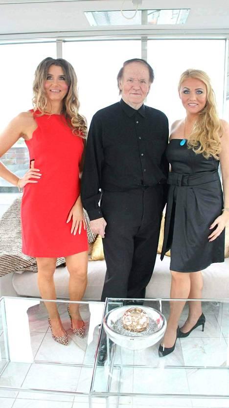 Lidia, Olli ja Aleksiina Joki.