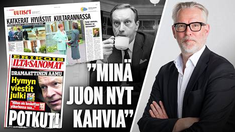 Ilta-Sanomien Timo Paunonen, 61, väitteli yhteiskuntatieteiden tohtoriksi perjantaina.