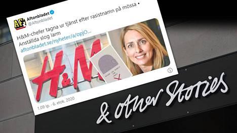 H&M-vaatejätin tytäryhtiö & Other Stories on joutunut rasismikohun keskelle.