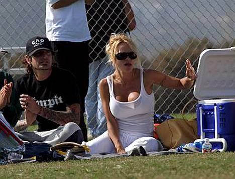 Tommy Leellä ja Pamela Andersonilla on kaksi poikaa, Brandon ja Dylan.