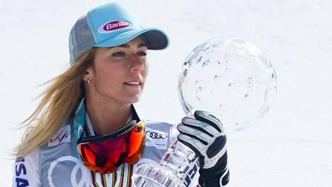 Mikaela Shiffriniltä jäi vain syöksycupin kokonaisvoitto ottamatta.