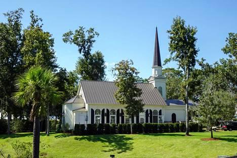 Parin hääpaikkana toimi Montage Palmetto Bluff -luksushotelli.