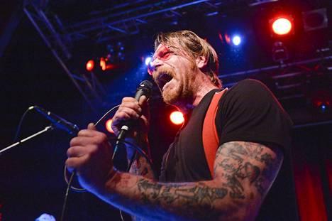 Eagles of Death Metal oli keikalla Tukholmassa viime lauantaina.