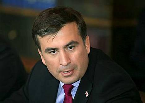 Georgian presidentti Mihail Saakashvili