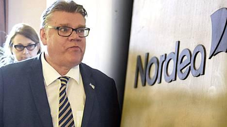 Perussuomalaisten puheenjohtaja ja Suomen ulkoministeri Timo Soini otti kantaa Panaman papereista paljastuneisiin tietoihin.