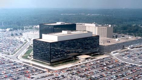NSA:n pääkonttori Yhdysvaltain Marylandin osavaltiossa.