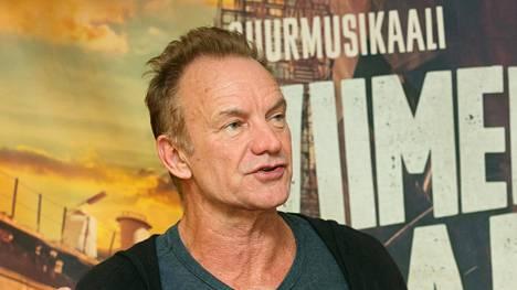 Sting esiintyi Helsingissa torstaina. Lauantaina hän piipahti Turussa.