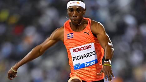 Pedro Pablo Pichardo Dohan Timanttiliigan kisassa.