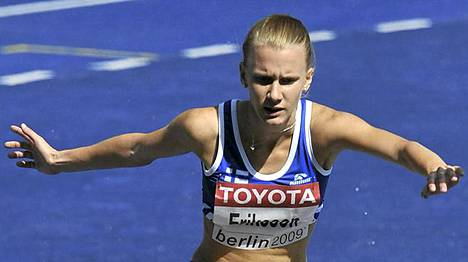 Sandra Eriksson joutui pettymään sairastelun takia.