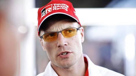 35-vuotias Latvala ei saanut enää tälle vuodelle vakituista kuljettajan paikkaa Tommi Mäkisen johtamasta Toyotan WRC-tallista. Arkistokuva.