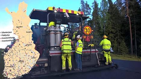 Tietyömaan arvioidaan aiheuttavan liikenteelle merkittävää haittaa silloin, kun kohde on yli 15 kilometrin mittainen ja kun sitä käyttää yli 6000 ajoneuvoa vuorokaudessa.