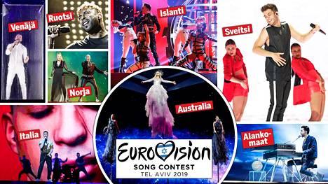 Euroviisujen finaali nähdään lauantai-iltana Yle Tv2 -kanavalla kello 22.00 alkaen.