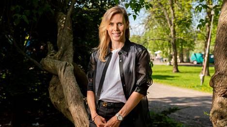 Tiffany Cromwell kuvattuna Helsingissä keväällä 2021.