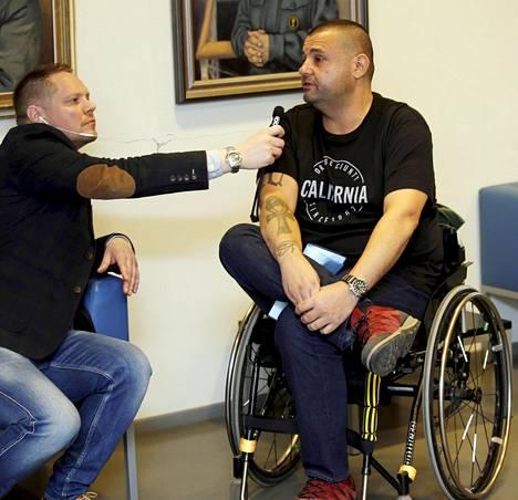 Hassan Zubier kuvattuna Turun vankilassa tämän vuoden huhtikuussa.
